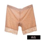 Harga Tiga Poin Legging Musim Semi Dan Musim Panas Dalaman Celana Renda Bunga Petinju Daging Berwarna Original