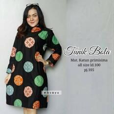 Chynur Batik Solo Tunik Bola