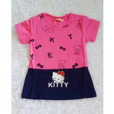Cikicoko Mini Dress Hello Kitty Hot Pink