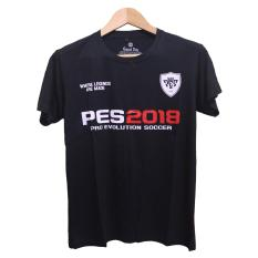 Cikitashop - Kaos T-Shirt Distro / Kaos Pria / T-Shirt Pria Anime Premium PES2018 Pro Evolution