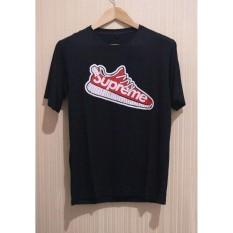 Cikitashop - Kaos T-Shirt Distro / Kaos Pria / T-Shirt Pria Anime Premium Supreme Sepatu