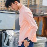 Toko Oriental Style Sastra Sepatu Linen Gelang Rajutan Pria Lengan Panjang Kemeja Musim Semi Baju Dalaman Merah Muda Di Tiongkok
