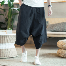 Toko Cina Musim Panas Angin Yard Besar Hip Hop Celana Celana Hitam Celana Pria Celana Panjang Pria Celana Chino Celana Cargo Terlengkap Tiongkok