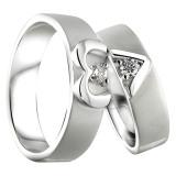 Spesifikasi Cincin Kawin Love Story Usa Diamond 207 Silver Elegan Bagus