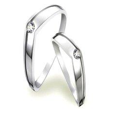 Katalog Cincin Pernikahan Arfa Usa Diamond 34 Elegant Silver Rings Terbaru