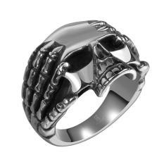 Cincin Tengkorak Titanium Skullring Jakarta Lick_Buymore Small Camuri - D77D9D