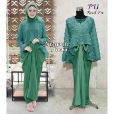 Harga Cipitih Shop Kebaya Modern Bahan Linen Halus Lembut Termurah Dress Wanita Blouse Cantik Gamis Modern Satu Set