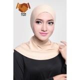 Jual Ciput Hijab Inner Antem Sleting Creme Murah Jawa Barat
