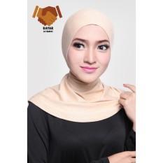 Toko Ciput Hijab Inner Antem Sleting Creme Lengkap