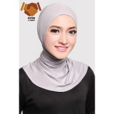 Review Toko Ciput Hijab Inner Antem Sleting Light Grey
