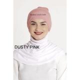 Beli Ciput Inner Rajut Anti Pusing Isi 6Pcs Hitam Putih Pink Navy Maroon Abu Hijab Murah