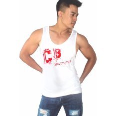 Jual City B Ch Men S Singlet Cb Athletic Putih Online Bali