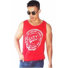Beli City B Ch Singlet Star Merah City B Ch Dengan Harga Terjangkau