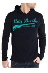 Spesifikasi City B Ch Men T Shirt Long Sleeves Hitam Yg Baik
