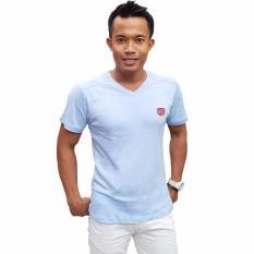Beli City B Ch T Shirt V Neck Style Biru Muda Lengkap