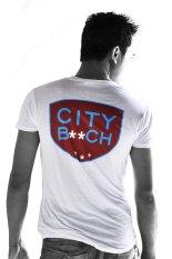 Dimana Beli City B Ch V Neck Tshirt Putih City B Ch