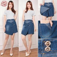 Cj Collectin Celana jeans pendek hotpant wanita jumbo short pant Julisa