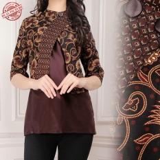 Toko Cj Collection Atasan Blouse Kemeja Abaya Kebaya Batik Wanita Jumbo Funny M L Terlengkap Di Banten