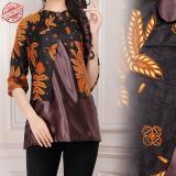 Beli Cj Collection Atasan Blouse Kemeja Abaya Kebaya Batik Wanita Jumbo Padmi M L Murah Banten