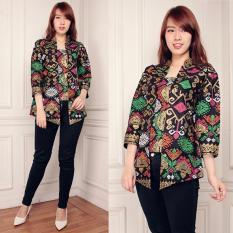 Spesifikasi Cj Collection Atasan Blouse Kemeja Abaya Kebaya Wanita Jumbo Shirt Asmira M Xl Lengkap Dengan Harga