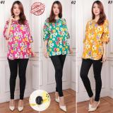 Diskon Cj Collection Atasan Blouse Kemeja Wanita Jumbo Shirt Blus Merida Blouse Atasan