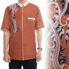 Cj Collection Baju koko atasan kemeja batik pria jumbo shirt Arwan