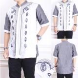 Cj Collection Baju Koko Atasan Kemeja Batik Pria Jumbo Shirt Noval Koko Murah Di Banten