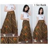 Model Cj Collection Celana Batik Kulot Rok Panjang Wanita Jumbo Long Pant Asha Terbaru