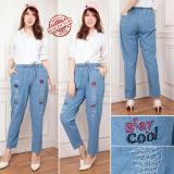 Diskon Cj Collection Celana Jeans Panjang Wanita Jumbo Long Pant Stacy Branded