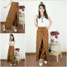 Cj collection Celana joger layer batik panjang wanita jumbo long pant Dafinah