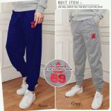 Beli Cj Collection Celana Joger Panjang Pria Jumbo Long Pant Leon Navi Kredit
