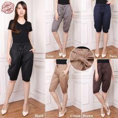 Jual Cj Collection Celana Joger Pendek 7Per8 Wanita Jumbo Short Pant Hotpant Mila Termurah