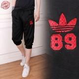 Spesifikasi Cj Collection Celana Joger Pendek Pria Jumbo Short Pant Adam Hitam Lengkap Dengan Harga