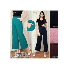 Cj Collection Celana Kulot Panjang Wanita Jumbo Long Pant Dini Murah