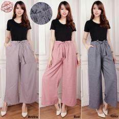 Beli Cj Collection Celana Kulot Panjang Wanita Jumbo Long Pant Trindy Cicilan