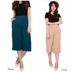 ... Cj collection Celana kulot pendek wanita jumbo short pant Duarisa