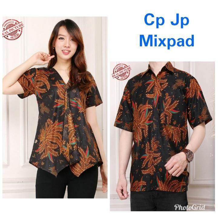 Good quality product Cj collection Couple batik dress maxi pendek atasan blouse long tunik wanita mini dress dan atasan