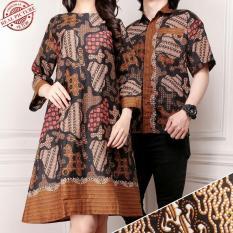 Spesifikasi Cj Collection Couple Batik Dress Maxi Pendek Atasan Blouse Long Tunik Wanita Mini Dress Dan Atasan Kemeja Shirt Pria Shirt Ningrum