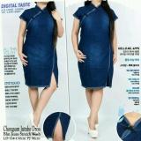 Daftar Harga Cj Collection Dress Cheongsam Jumbo Jeans Wanita Jumbo Mini Dress Sansan Dress