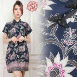Penawaran Istimewa Cj Collection Dress Cheongsam Pendek Wanita Jumbo Mini Dress Aileen Terbaru