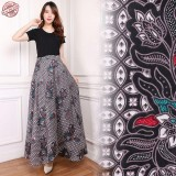 Toko Cj Collection Rok Lilit Batik Maxi Payung Panjang Wanita Jumbo Long Skirt Sharon Termurah