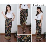 Beli Barang Cj Collection Rok Lilit Batik Panjang Wanita Jumbo Long Skirt Adinda Online