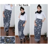 Review Toko Cj Collection Rok Lilit Batik Panjang Wanita Jumbo Long Skirt Gwen