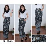 Cara Beli Cj Collection Rok Lilit Batik Panjang Wanita Jumbo Long Skirt Manisa