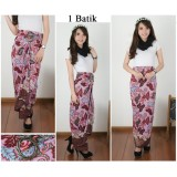 Harga Cj Collection Rok Lilit Batik Panjang Wanita Jumbo Long Skirt Sekar Fullset Murah