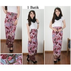 Spesifikasi Cj Collection Rok Lilit Batik Panjang Wanita Jumbo Long Skirt Sekar Murah
