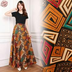 Cara Beli Cj Collection Rok Lilit Batik Payung Panjang Wanita Jumbo Long Skirt Liza
