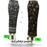 Jual Cj Collection Rok Span Plisket Batik Wanita Jumbo Long Skirt Jani 02 Rok