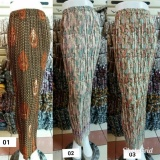 Jual Cj Collection Rok Span Plisket Batik Wanita Jumbo Long Skirt Zeta 03 Rok Branded