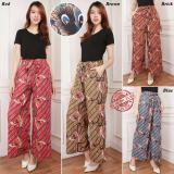 Jual Cj Colletion Celana Kulot Batik Panjang Wanita Jumbo Long Pant Asira Baru